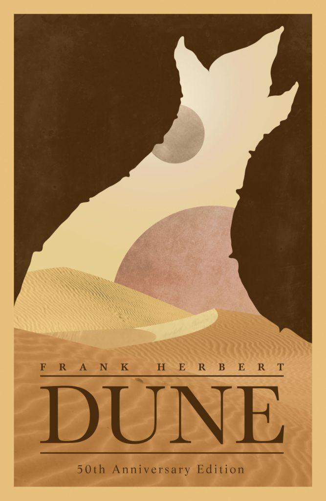 cover art for Dune by Frank Herbert