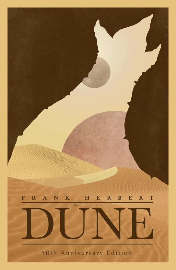 cover art for Dune by Frank Herbert