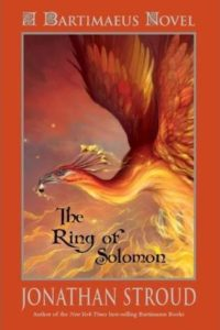 cover art for The Ring of Solomon by Jonathan Stroud